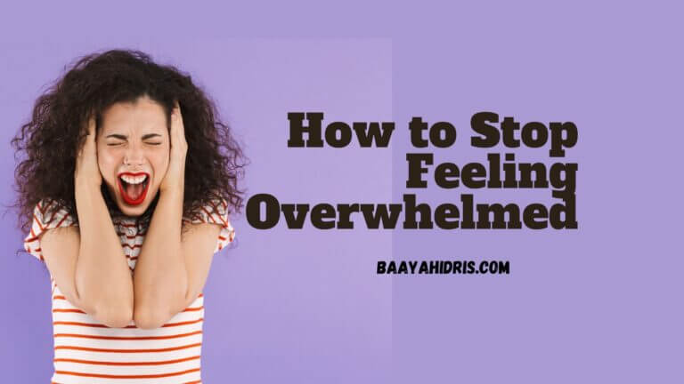 How to Overcome Feeling Overwhelmed at Home as a Mom