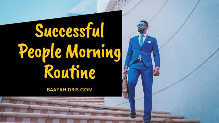 10 Successful People Morning Routine for Productivity